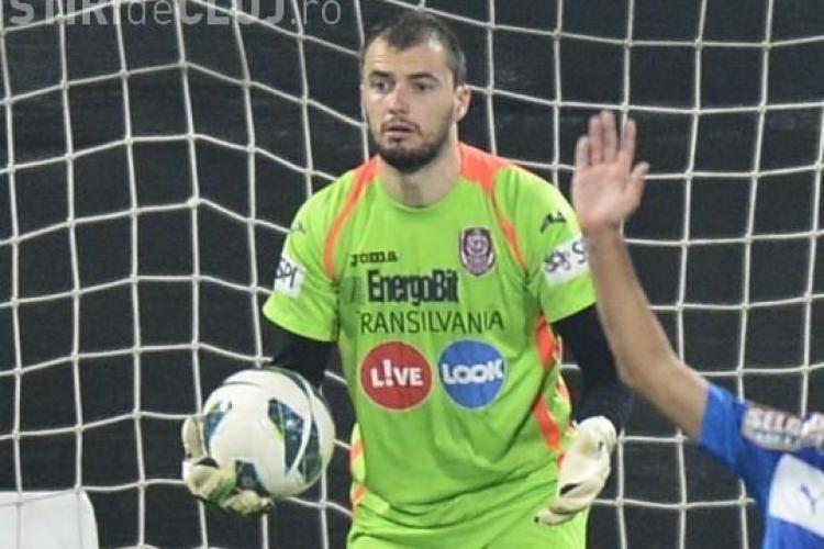 Portarul CFR Cluj, cel mai bun din grupele Champions League