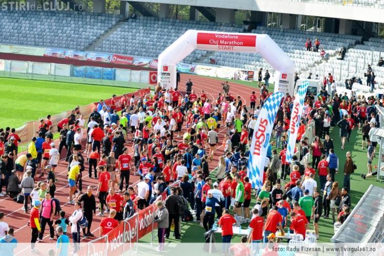 Maratonul Internaţional Cluj 2013 are loc în 21 aprilie