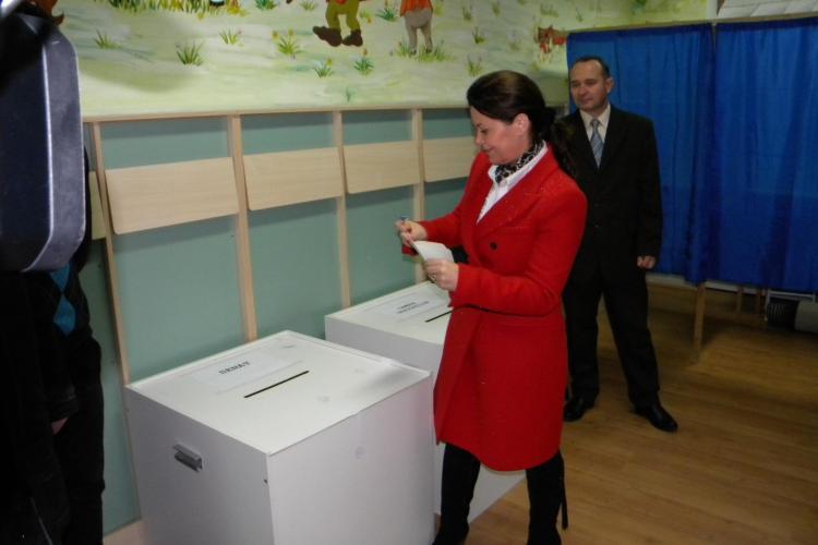 Aurelia Cristea: Votez pentru o Românie puternică - FOTO -VIDEO