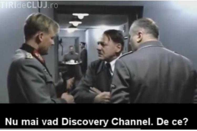CLIPUL ZILEI! Hitler furios foc pentru că a rămas fără Discovery