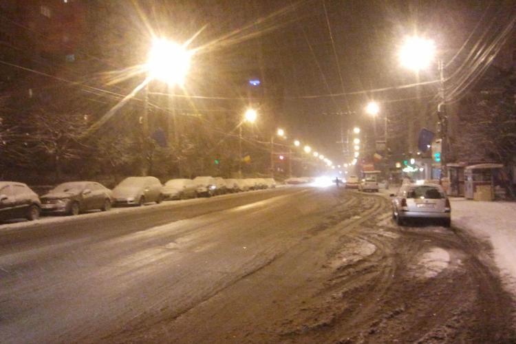 Zăpada a scos din garaj utilajele de deszăpezire la Cluj! Cum se acționează și unde sunt probleme. La tine pe stradă cum e? - FOTO