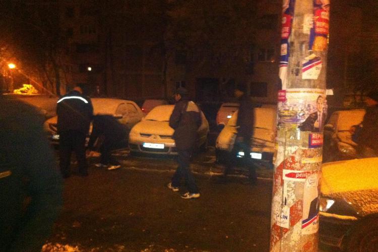 Membrii PDL Cluj distrug unidirecționalele USL și lipesc ilegal afișe VIDEO și FOTO (P)