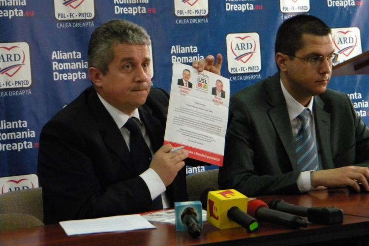 Daniel Buda, plângere penală împotriva USL Cluj: Continuă campania electorală - VIDEO