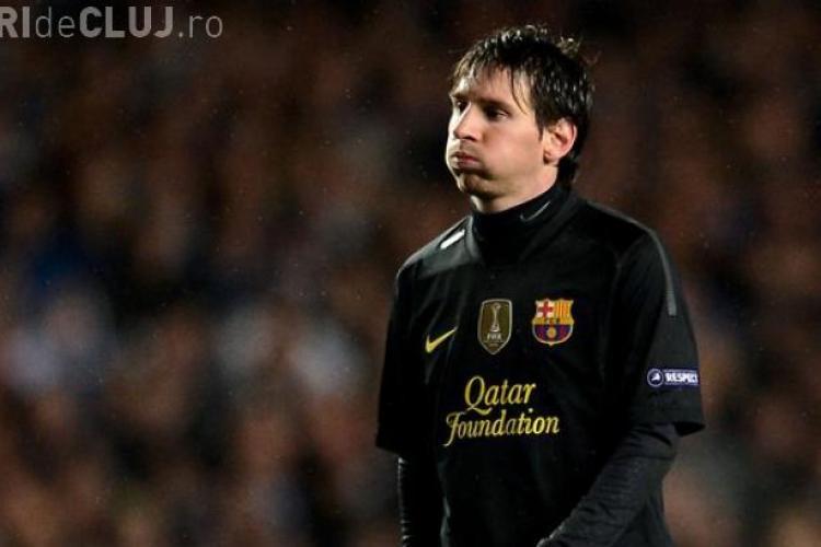 Veste BOMBĂ pentru Lionel Messi