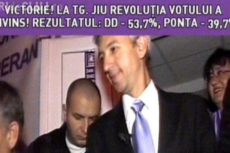 OTV a înnebunit: Dan Diaconescu 53,7%, Victor Ponta 39,7%