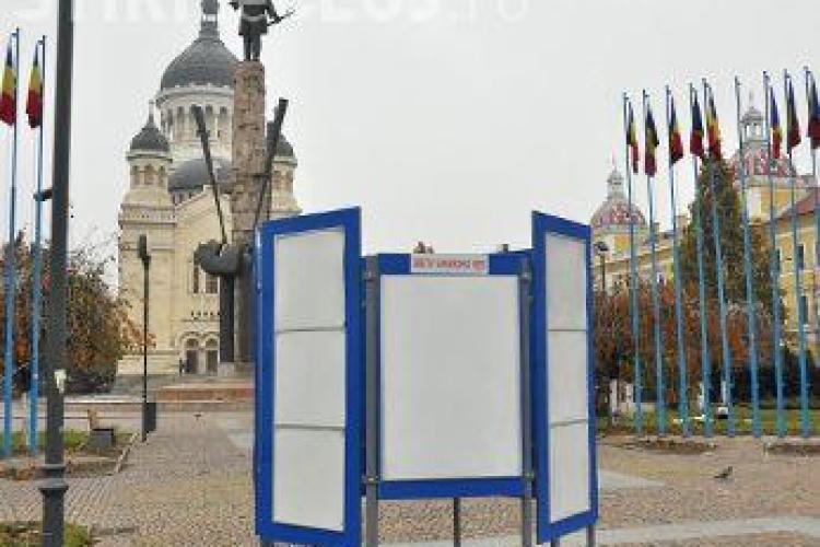 TOPUL afișajului ilegal de campanie din Cluj-Napoca: USL și ARD campionii TUPEULUI, PRM și UDMR câștigători prin ABSENȚĂ