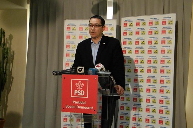 Victor Ponta, despre colaborarea cu UDMR: Vreau o politică de reunificare a ţării