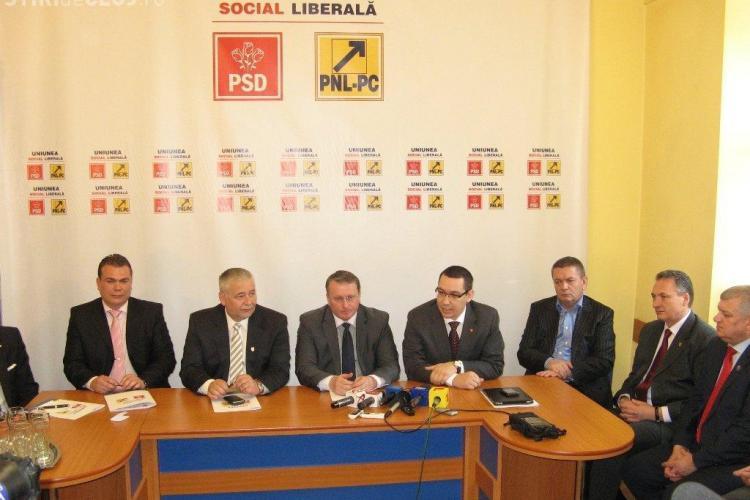 USL: PDL Cluj îşi maschează frica distribuind fluturaşi mincinoşi (P)