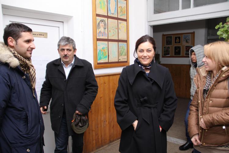 Elena Uioreanu a votat la Băișoara - FOTO