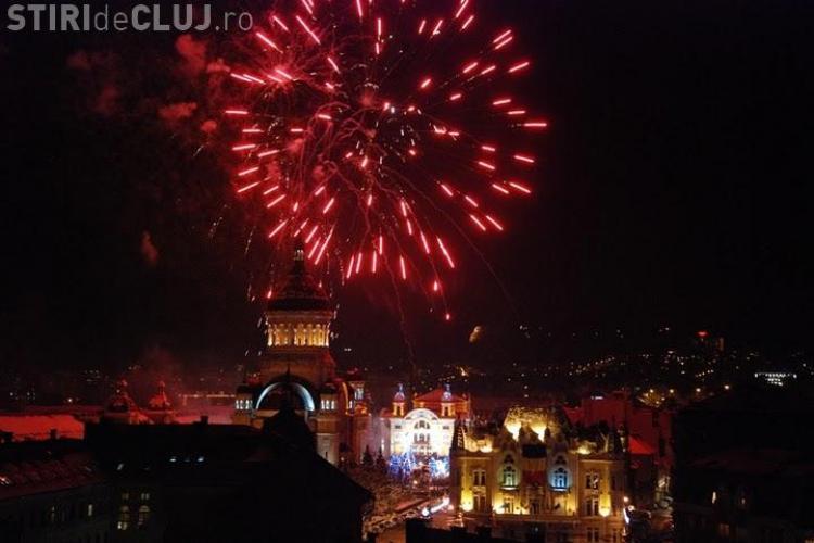 Artificii de la ora 20.00 în Piața Avram Iancu. VEZI evenimentul AICI