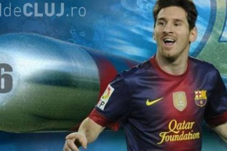 Lionel Messi recordmanul absolut din fotbal