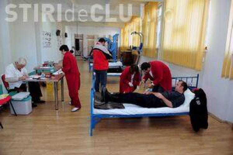 Campanie de donare de sânge la Cluj