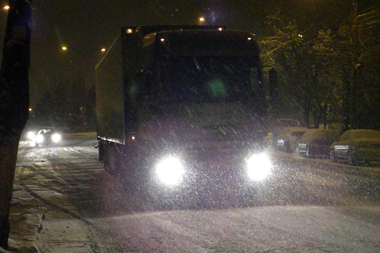 COD GALBEN de ninsori la Cluj. AFLĂ cât timp va ninge