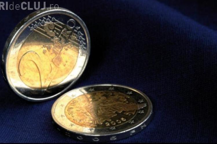 Leul trece de 4,54 lei/euro. Vezi cursul valutar