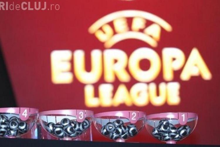 CFR Cluj și Steaua, capi de serie în Europa League. Vezi cu ce echipa ar putea juca