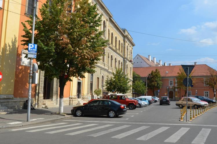 Patru variante de amenajare a unui parking în centrul Clujului! Care vi se pare mai viabilă? - VIDEO