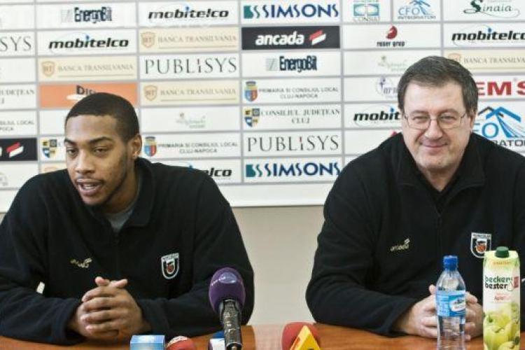 U Mobitelco BT Cluj joacă cu CMS București, miercuri, 5 decembrie