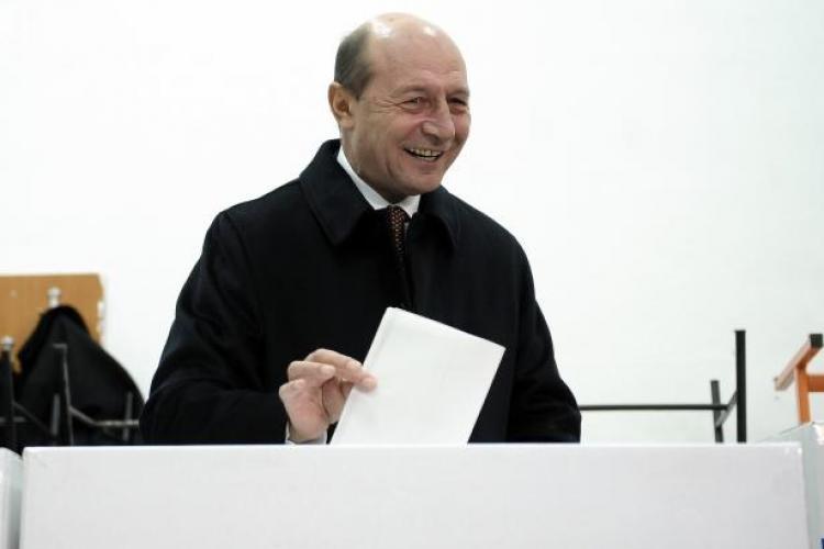 Traian Băsescu pedepsit de românii din străinătate