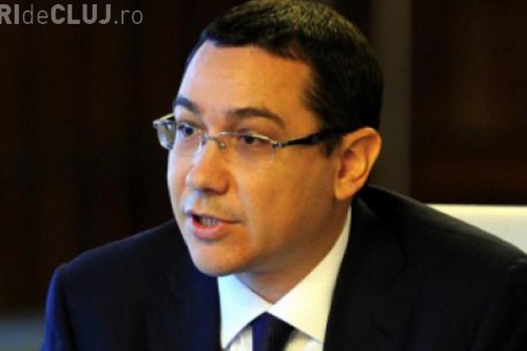 Ponta despre votul Parlamentului pentru Guvern: Este sfârşitul unei lumi politice