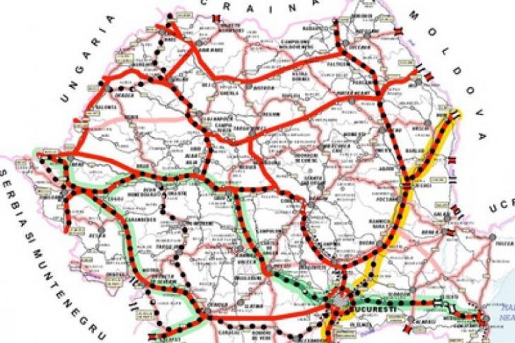 Ce autostrăzi se doresc a fi finalizate în 2013
