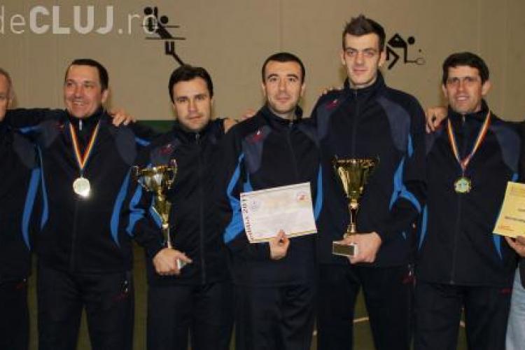 Sportivii de la 2 cluburi clujene, premiați cu aur la Campionatele Mondiale de fotbal-tenis. Au stabilit un RECORD