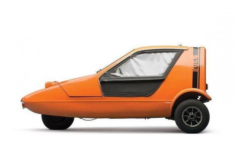 Cele mai mici maşini din lume scoase la licitaţie - FOTO