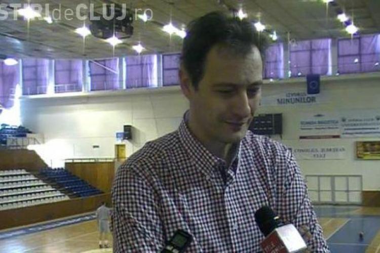 Mircea Cristescu, despre noul jucător aflat în probe la U Mobitelco BT Cluj