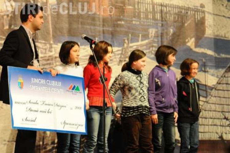 """Gala """"10 pentru Cluj - Juniorii Cluului, Speranţele Cetăţii"""" are loc azi la ora 16.00"""