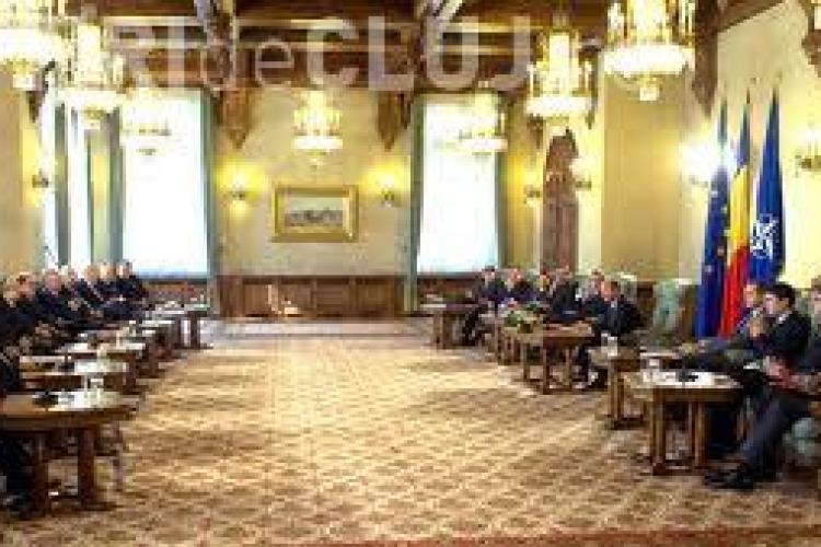 Au început consultările la Cotroceni pentru desemnarea premierului