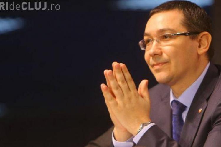 Ponta cere parlamentarilor să colaboreze pentru o nouă Constituţie