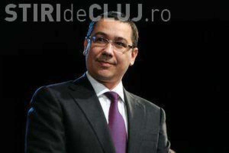 Ponta a schiţat noul guvern. Foarte mulţi miniştri şi trei vicepremieri