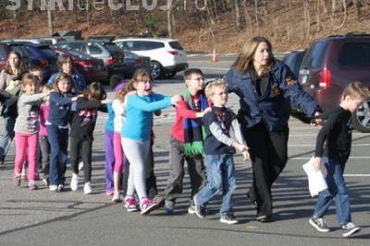 30 de morți la o școală din Connecticut. 20 de copii cu murit împușcaț- VIDEO