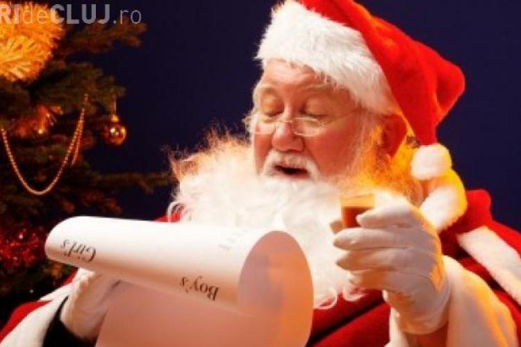 Cele mai HAIOASE scrisori trimise pentru Moş Crăciun - FOTO
