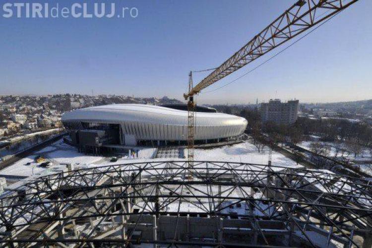Sala Polivalentă va fi gata în 2013. Au început lucrările la acoperiș