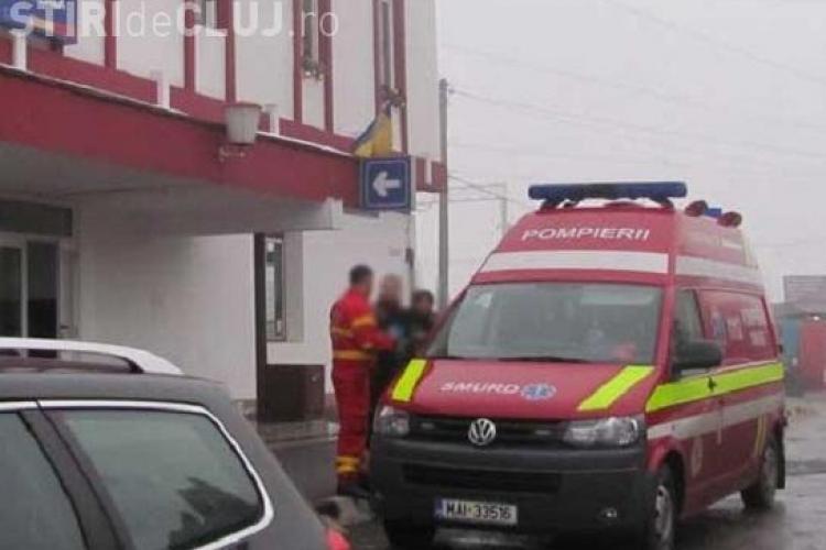 Un bărbat a căzut din tren în Gherla
