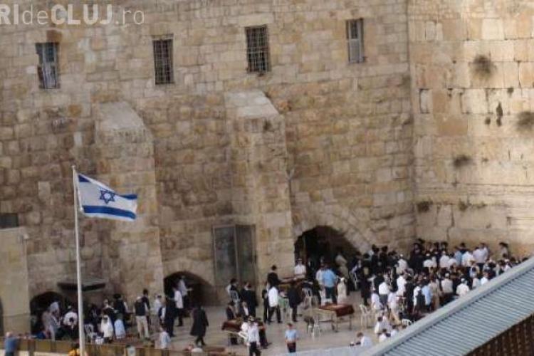 Descoperire incredibilă în Ierusalim la Zidul plângerii
