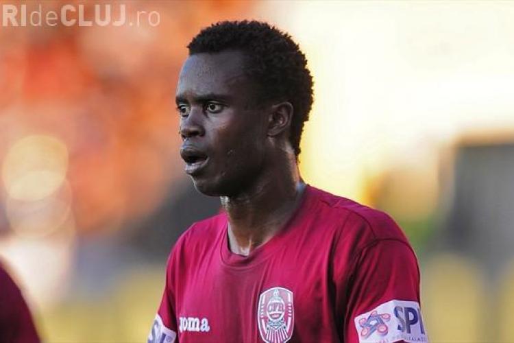 """Sougou dezvăluie că e """"dorit de multe echipe"""". Ce sumă ar putea încasa CFR Cluj pe jucătorul din Senegal"""
