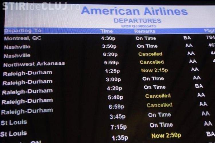 Un zbor din SUA a fost anulat în ultimul moment. Vezi motivul NĂUCITOR pentru care a fost anulată cursa