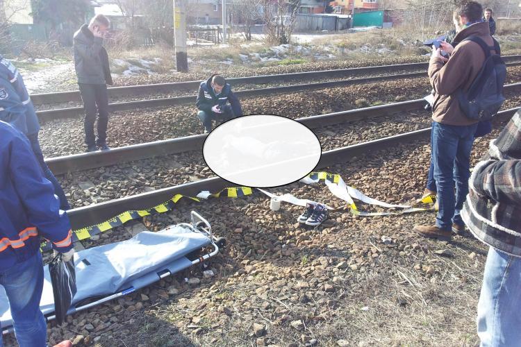 Persoană lovită în Halta Clujana. UPDATE: Un tânăr s-a sinucis - FOTO ȘOCANTE