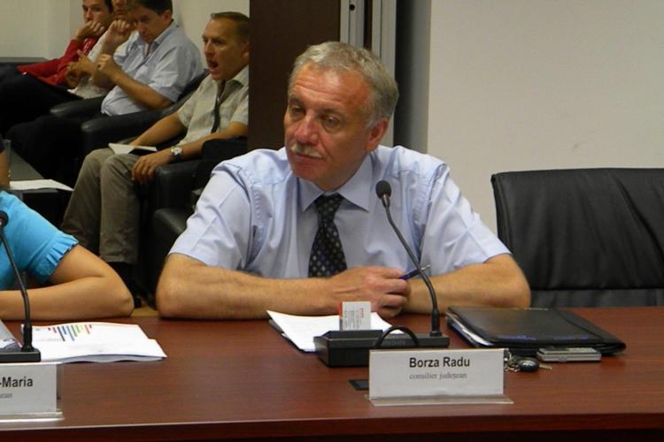 Radu Borza, consilier judeţean PDL, a murit