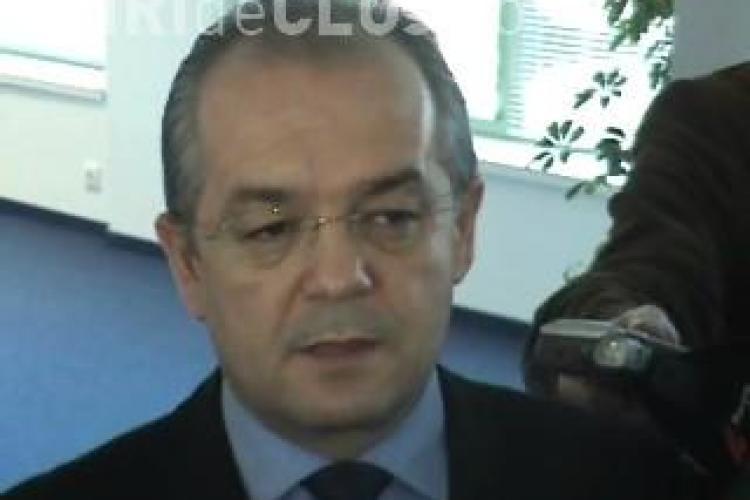 Boc: Cer ministrului să continuăm proiectul centralei energetice de la Tarniţa-Lăpuşteşti - VIDEO