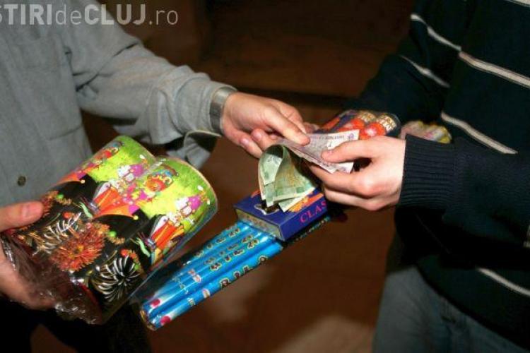 Un bucureștean vindea în Cluj 19.000 de artificii și petarde