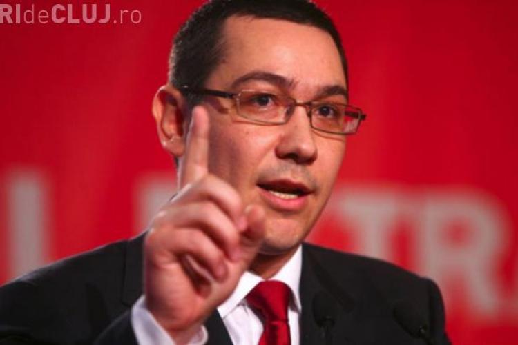 Ponta: O eroare a INS privind PIB-ul va determina reducerea cheltuielilor bugetare