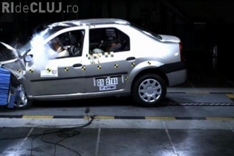 Cât de sigur este Loganul în cazul unui accident. VEZI testele EuroNCAP - VIDEO