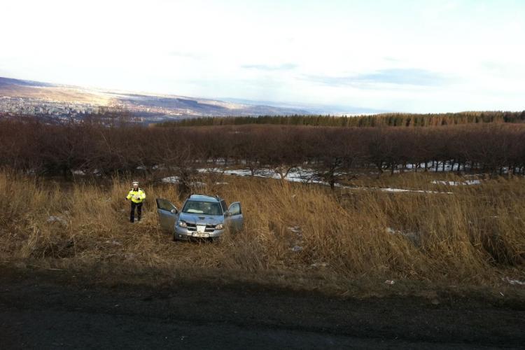Accident pe Feleac, în CURBA MORȚII. O mașină s-a IZBIT de un TIR - UPDATE