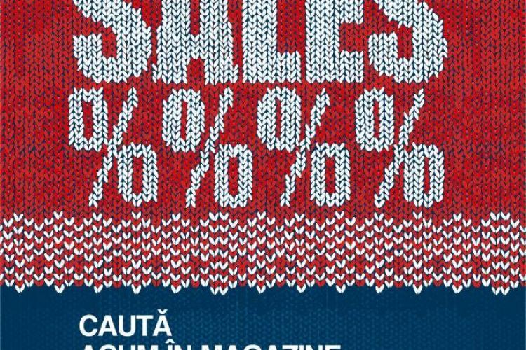 Iulius Mall Cluj are reduceri de până la 70%. Ce magazine fac discounturi