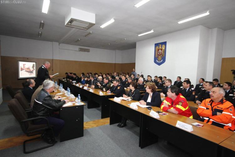 ISU Cluj a avut, în 2012, 8.000 de intervenții