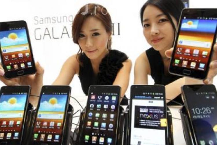Samsung calcă peste Apple.100 de milioane de Galaxy S vândute mai rapid ca iPhone