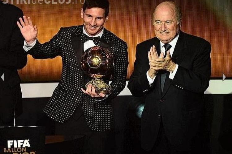 Gest de DEZGUST făcut de Ronaldo după ce Messi a luat Balonul de Aur - FOTO