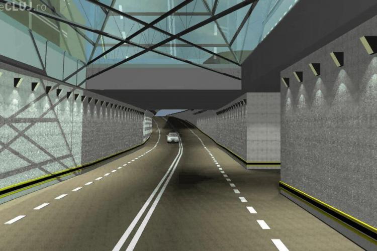 Boc vrea un tunel pe sub Cluj, cu parking subteran și ieșiri spre Calea Turzii și Gară - VIDEO
